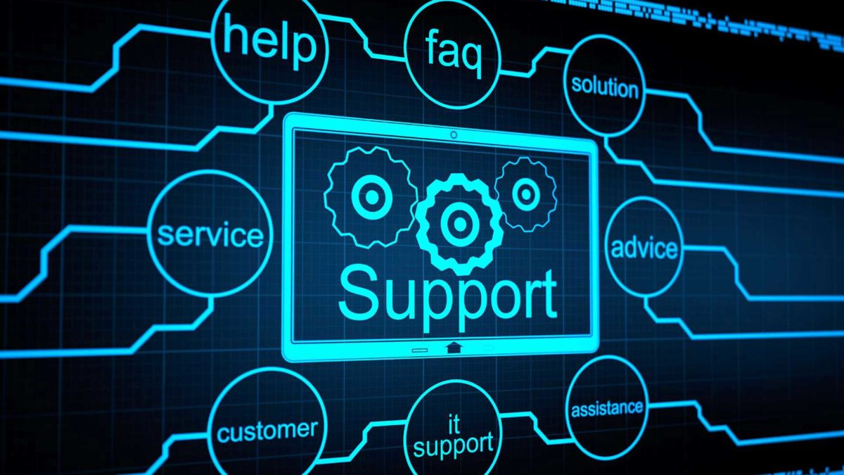 Zarządzane wsparciem informatycznym